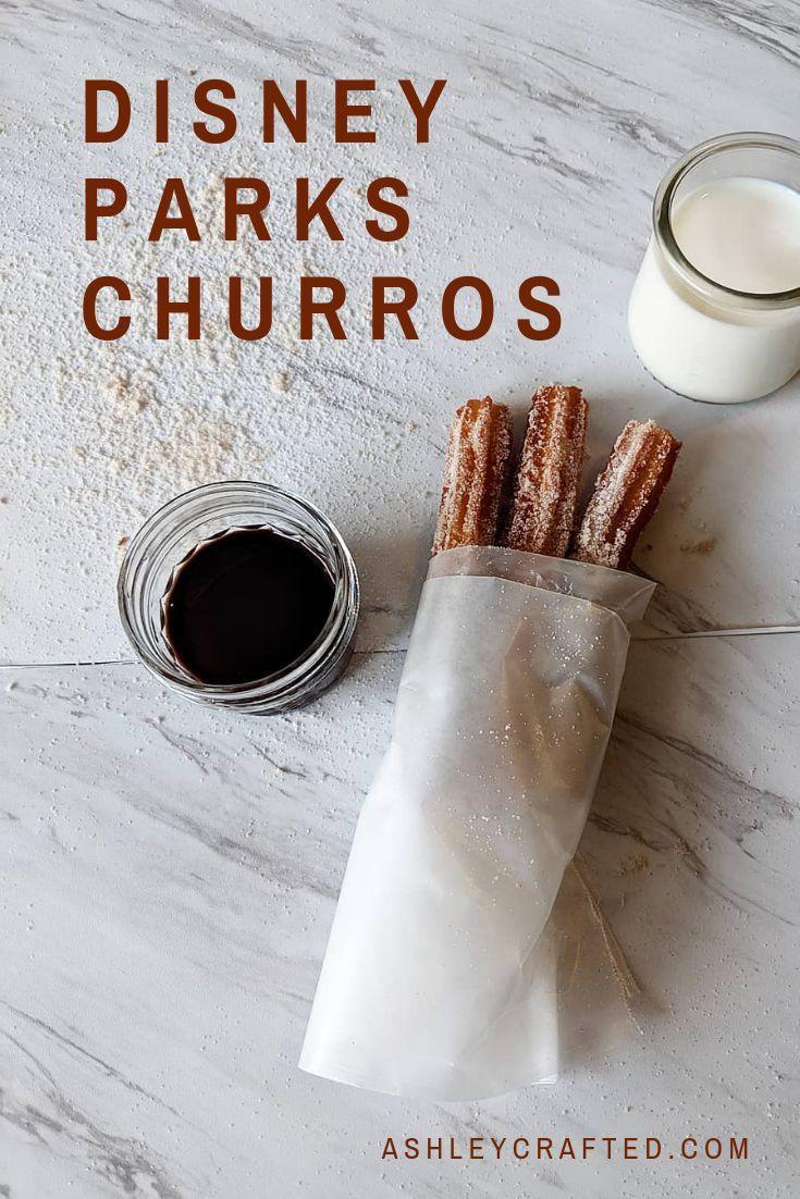 Disney Parks Churros sind ein einfaches Rezept, das Sie zu Hause für die perfekte Dis …