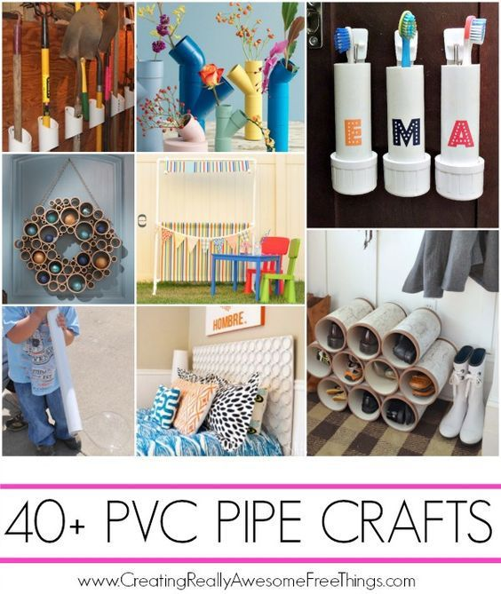 Wallet Friendly DIY Projects using PVC Pipe – Home and Garden
