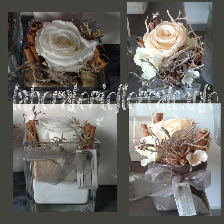 rose stabilizzate e cannella