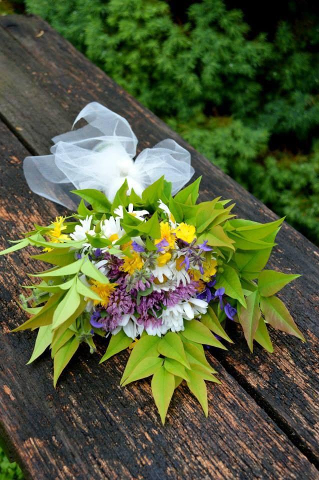 Che ne dite del bouquet che ho preparato?? per l'addio al nubilato ;)