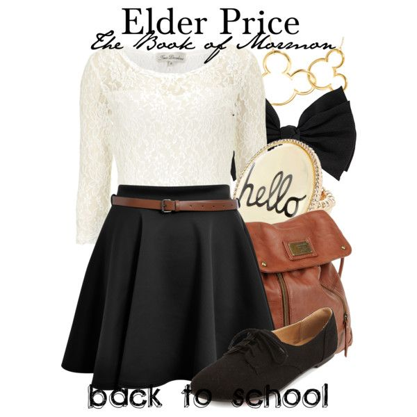 """The Book of Mormon"" by thebroadwaywardrobe on Polyvore"