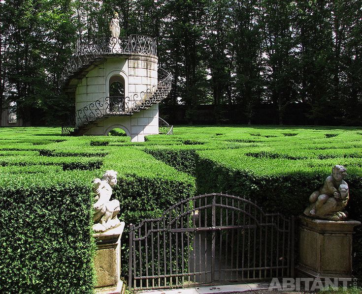 Сад-лабиринт в Стра, Венето, Италия)