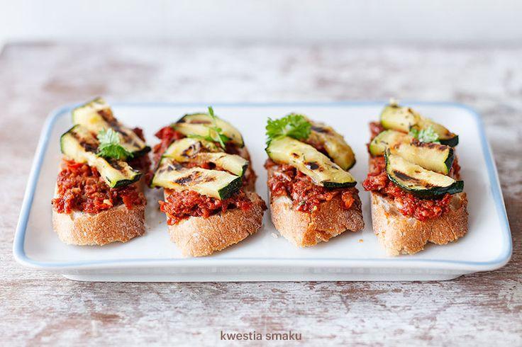 Vegan Tartare Canapes