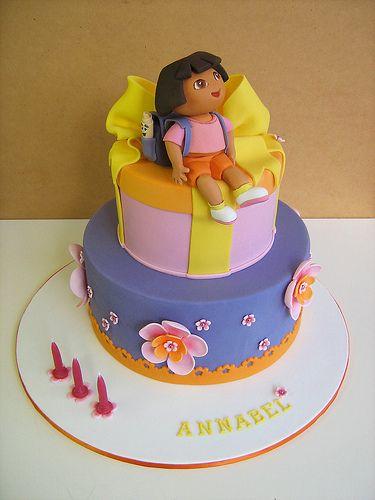 Cake Design Dora L Exploratrice : 17 Best images about Dora Party Ideas on Pinterest ...