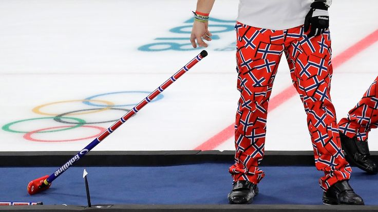 The definitive ranking of Norway's Olympic curling pants...