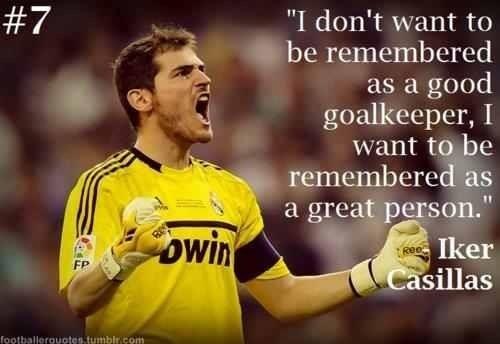 Iker Casillas...legend