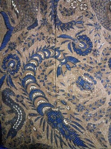 Batik iwak udang/sea creature batik 1950 solo