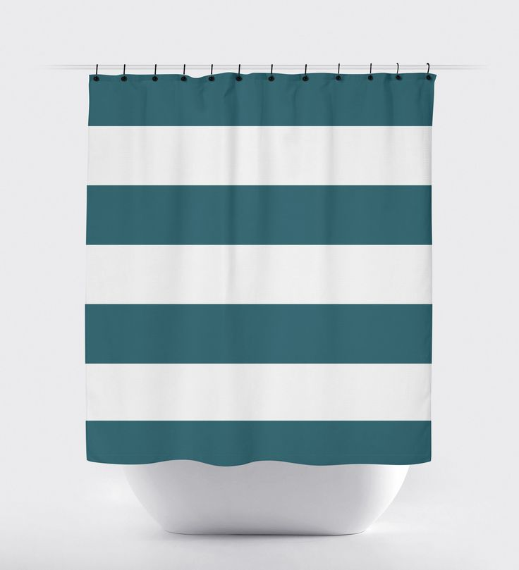 teal striped shower curtain. Teal Striped Shower Curtain 1360 best Products images on Pinterest  curtains