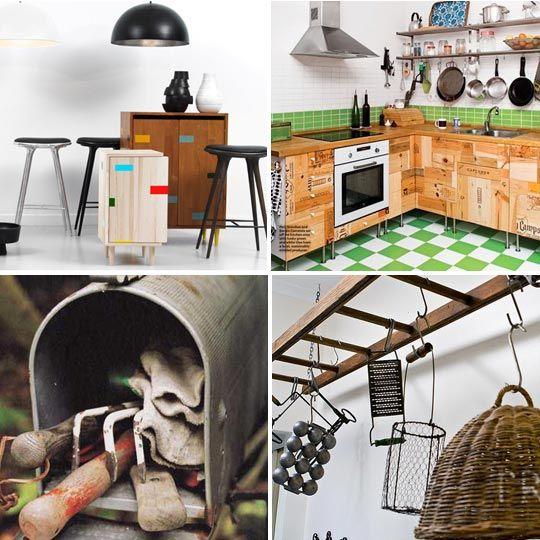49 CREATIVE REUSE IDEAS THAT WILL INSPIRE AND SURPRISE YOU... We get excited about stylish, functional, and innovative creative reuse ideas, from the myriad ways you can reuse a jar, to uses for chipped tea cups, antique bread bins, vintage card catalogs, bubble wrap, wallpaper scraps, even old gym floorboards. Here's a big roundup on a few of our favorite ideas.