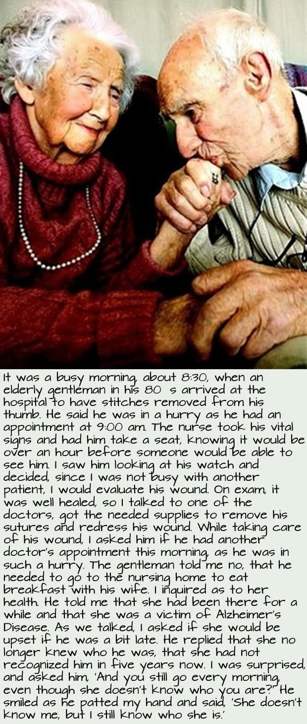 How lovely is this! Are you as lucky as this lady to have found the love of your life? #love #forever #beautiful