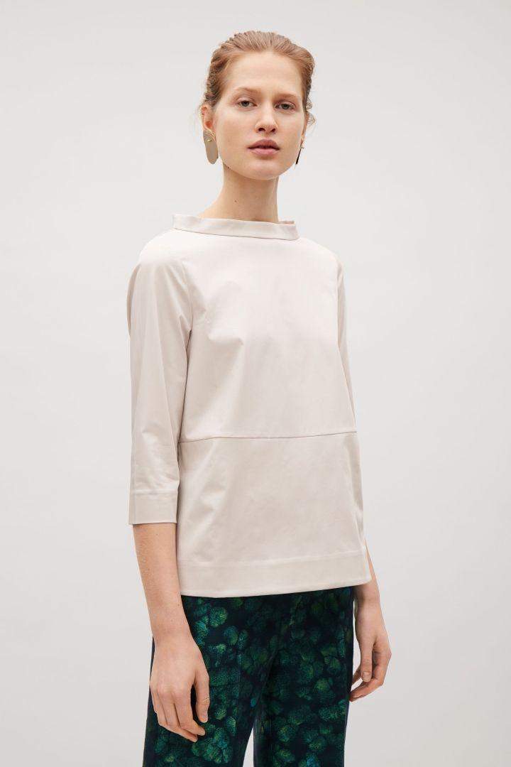 COS | Wide-neck top