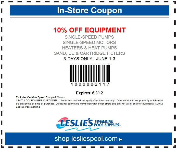 Leslies Pool Coupons In Store Proflowers Online Coupons