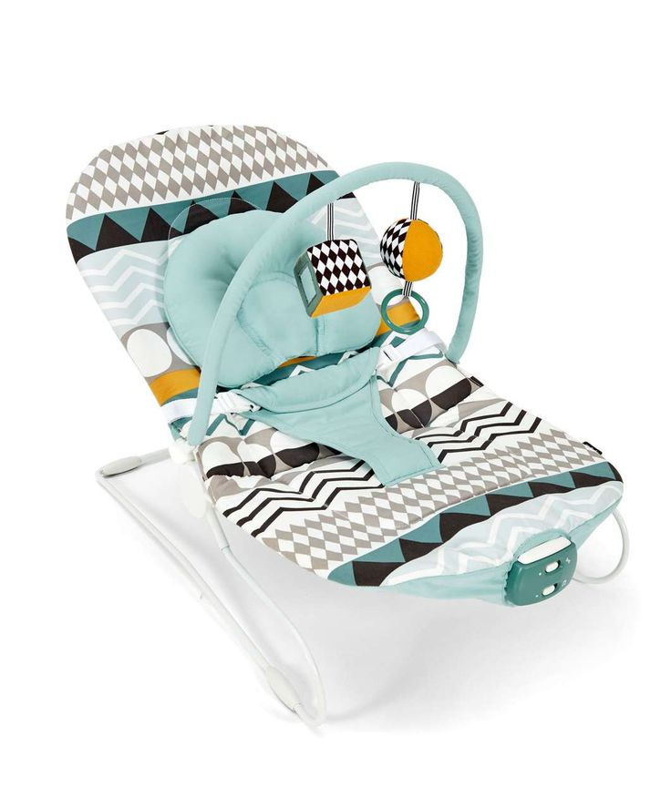 Buzz Bouncer - Patternology - All Rockers, Bouncers & Swings - Mamas & Papas
