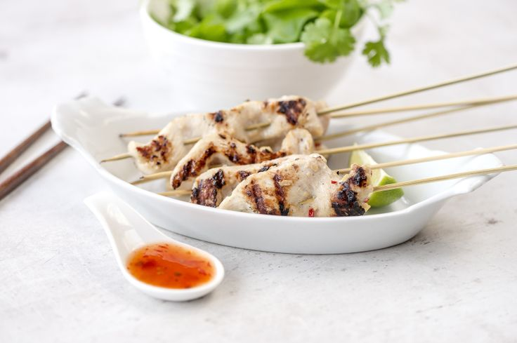 Lempeät kanavartaat maistuvat perheen pienimmillekin. Ohjeet otat täältä: http://www.dansukker.fi/fi/resepteja/kanavartaat.aspx Näppärä iltapala! #kanavartaat #kesa #grillaus #grilliruoka