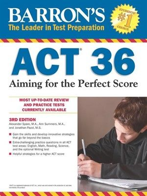An ACT test score of 36 represents test-taking perfection. This innovative book offers tips to help students tackle the ACT's most difficult questions, extra-challenging practice tests in all ACT test areas, special advice for boosting science scores, detailed advice on essay writing, and more.