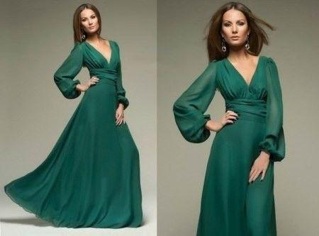 зеленое повседневное платье в пол - Поиск в Google