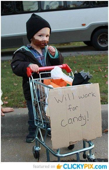 24 Homemade Kid Halloween Costumes - Clicky Pix