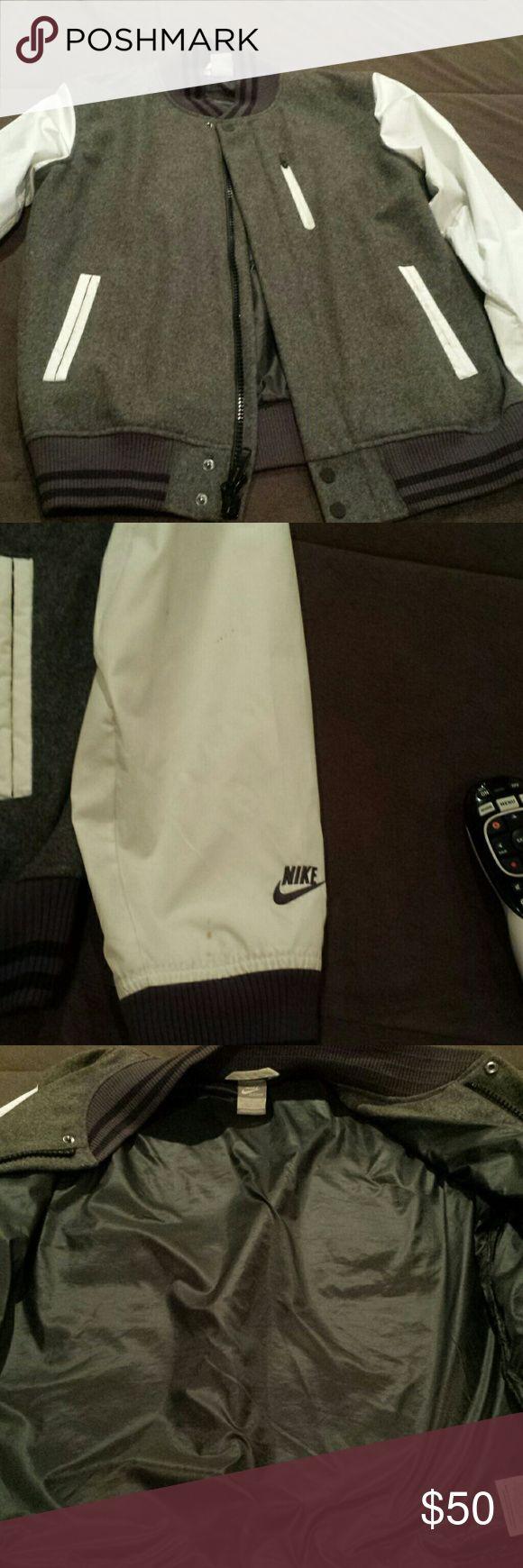 Men's Nike Varsity Jacket Men's Nike Varsity Jacket in Good Condition Nike Jackets & Coats Bomber & Varsity