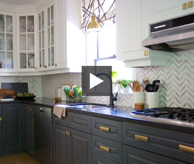 Gray Kitchen Makeovers: 17 Best Images About Cabinet Colors On Pinterest