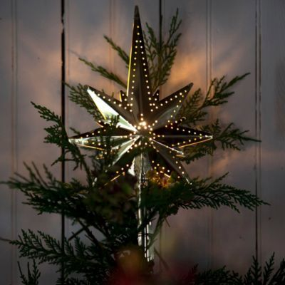 Brass Star Tree Topper from Terrain $48
