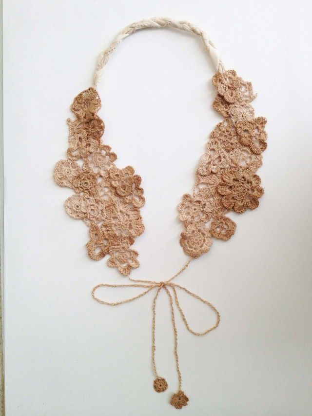 630 best Crochet - Necklaces and Collars images on Pinterest ...