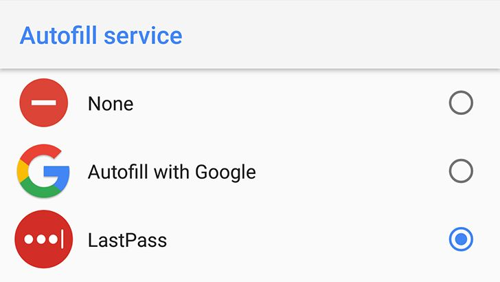 LastPass finally gets support for Oreo autofill keeps accessibility option