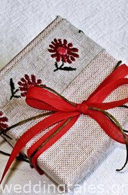 Chic handmade wedding favor from @EliteEventsAthens - EliteEventsSantorini