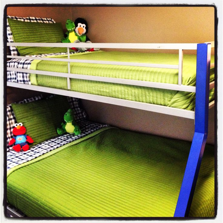 Bunk beds target sheets and quilts boy 39 s room for Target loft bed