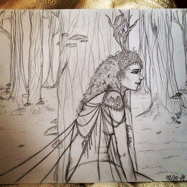 Forest maiden Helene w