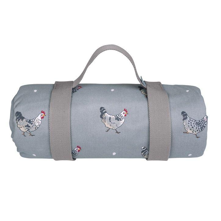 Sophie Allport 'Chicken' Picnic Blanket | Prezola - The Wedding Gift List