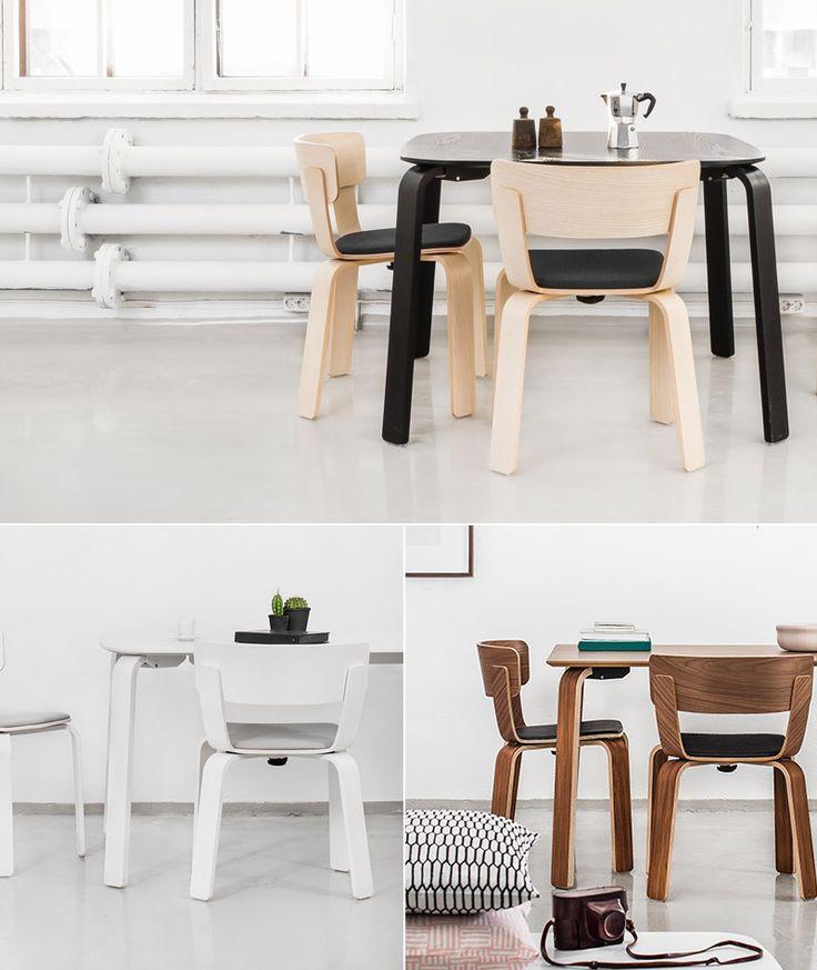 Scandinavian style Bento chair