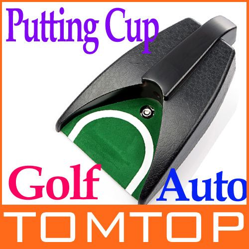 Automatic Golf Ball Return Putting Cup Device