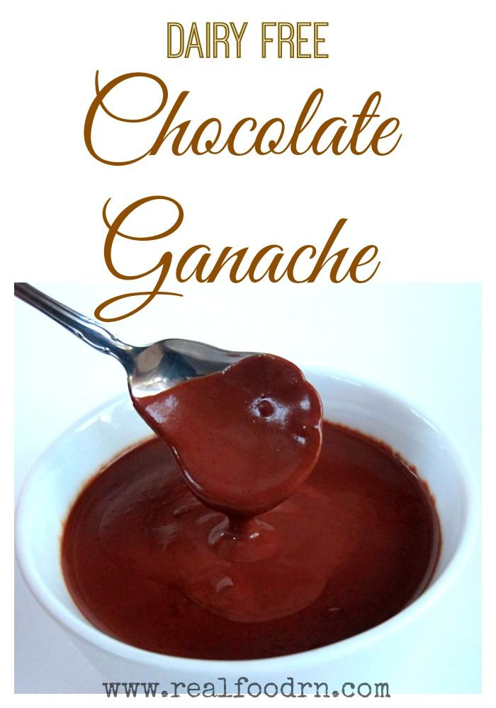Chocolate Ganache {dairy-free}. Healthy chocolate sauce that goes great on everything from ice-cream to flourless chocolate cake! #paleodessert #paleo