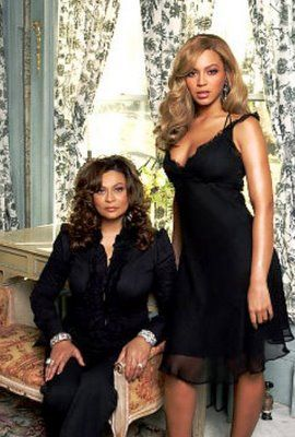 DesigningWomen...Beyonce and her mother, Mrs. Tina Knowles