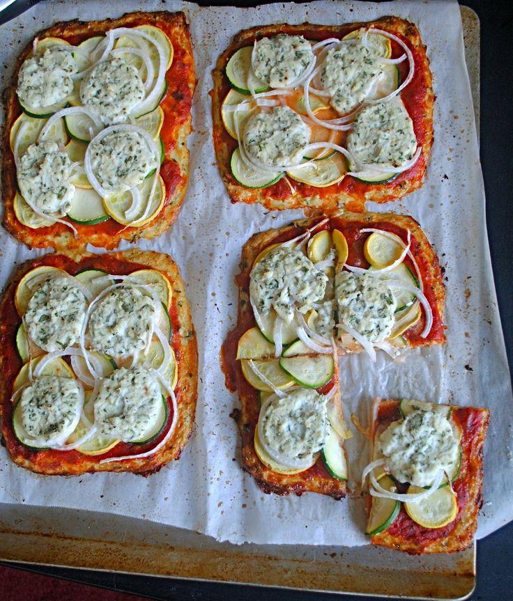 Basil Cauliflower Pizza | Fat Girl Trapped in a Skinny BodyFat Girls, Cauliflowers Crusts, Pizza Crusts, Cauliflower Pizza, Gluten Free, Girls Trap, Basil Cauliflowers, Cauliflowers Pizza, Skinny Body
