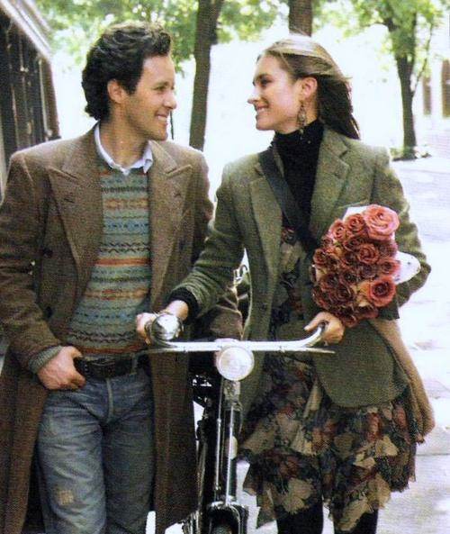 The keepers of the names,   David Lauren and Lauren Bush