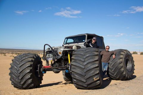 1989 Jeep Wrangler – Street legal Ultimate Rock Crawler for sale