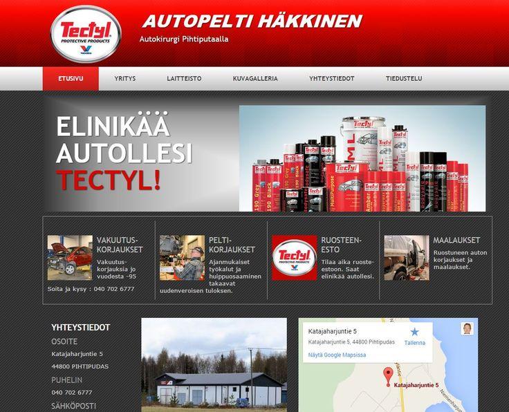 Autotohtori Pihtiputaalla. Peltikorjaukset ja ruostesuojaukset. Nettisivut: http://www.teamprog.fi/