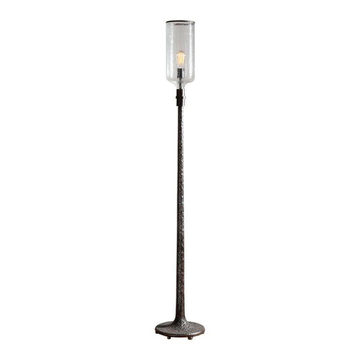 Hadley Old Industrial Rustic Floor Lamp by Uttermost