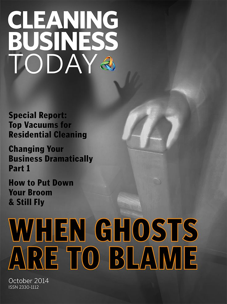 In the spirit of Halloween, the October cover of Cleaning Business Today looks spooky. The theme for this issue, however, making big changes to your business, doesn't have to scare you. CBT's business experts provide plenty of tricks and treats to guide you the through dark nights of transition.