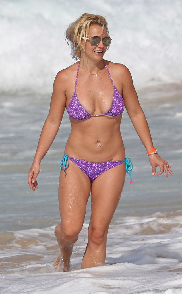 Hot Mama! Britney Spears Shows Off Impressive Bikini Body During Family Vacation in Hawaii  Britney Spears