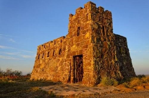 Marking the spot where a conquistador gave up his search for the fabled Seven Cities of Gold