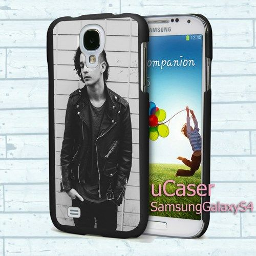 "Matt Healy The 1975 Band for Samsung Galaxy S4 5.0"" screen Black Case"