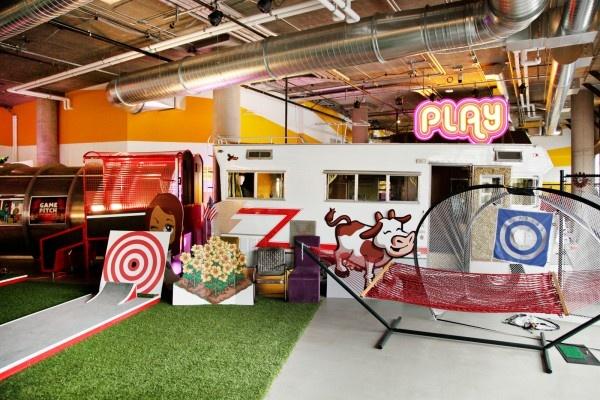 12 best mini golf in the library images on pinterest for Zynga office design