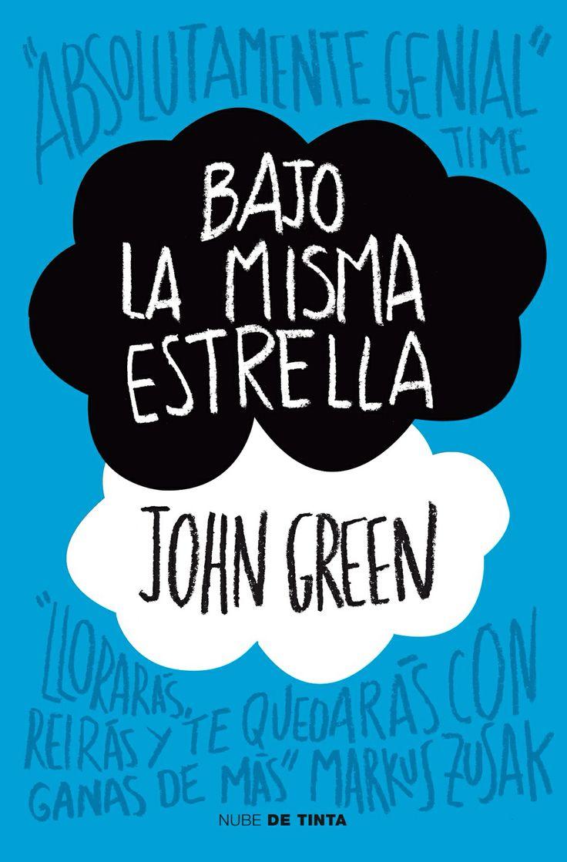 Bajo la misma estrella de John Green. Libro juvenil, romance, drama.