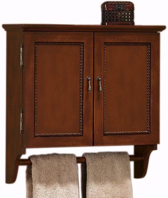 Bathroom wall cabinet with towel bar - Bathroom wall cabinet with towel bar ...
