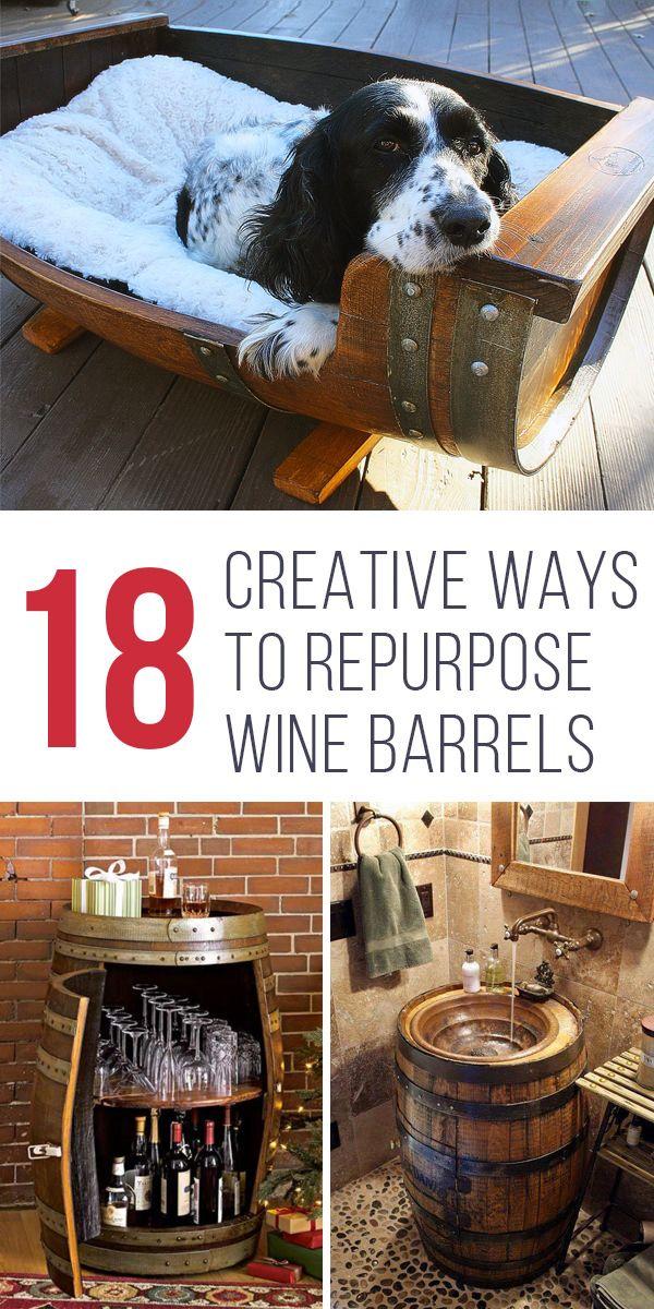 18 Creative Ways To Repurpose Wine Barrels