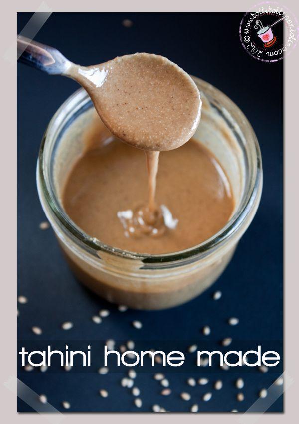 Bolli bolli pentolino: Tahini, la pasta di sesamo home made