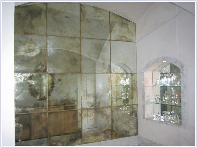 Remarkable Antiqued Mirrors
