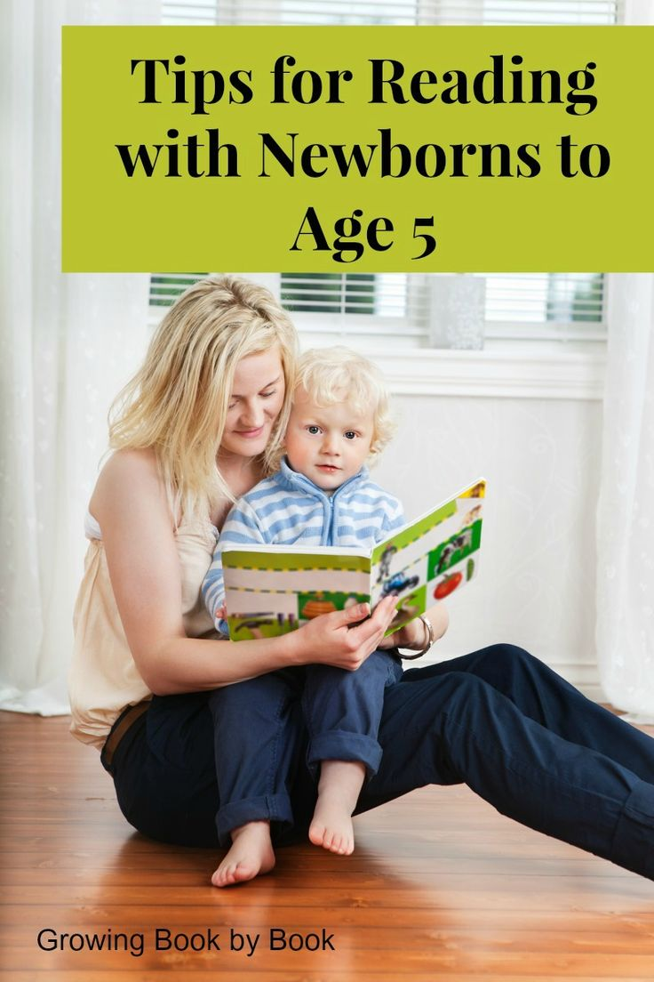 Tips for reading with young children from growingbookbybook.com .